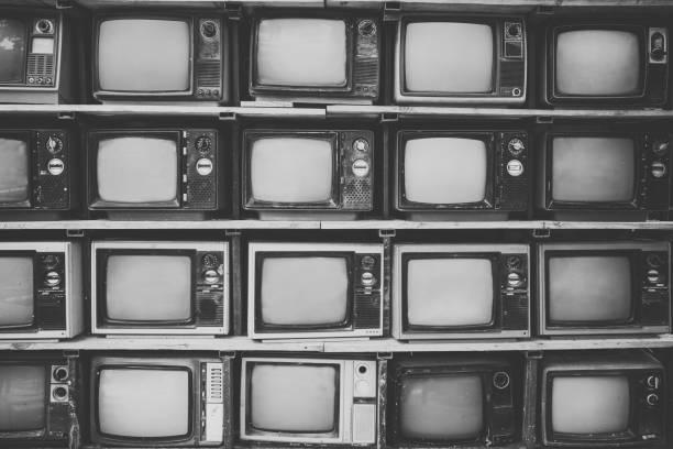 vintage-Fernseher – Foto