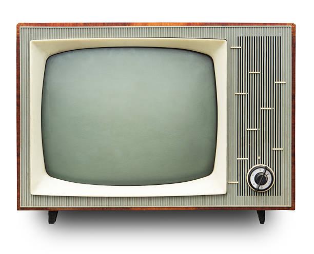 Vintage-Fernseher. – Foto