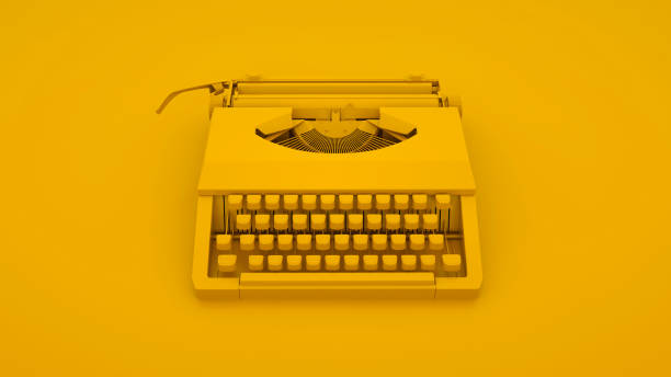 Vintage typewriter isolated on yellow background 3d illustration picture id1174514816?b=1&k=6&m=1174514816&s=612x612&w=0&h=fnay9l6whpal es8uocgokbc6engkyxzul5pz009viy=