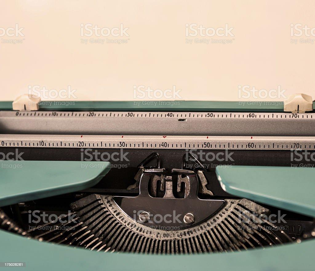 Vintage Typewriter royalty-free stock photo