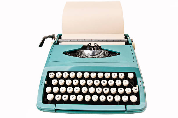 Vintage Typewriter stock photo