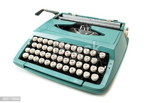 istock Vintage Typewriter 530776839