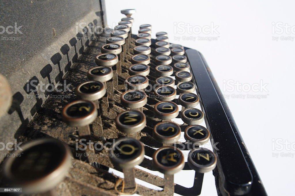Vintage Typewriter  1940 Stock Photo