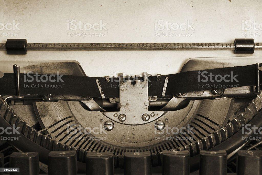 vintage macchina da scrivere foto stock royalty-free