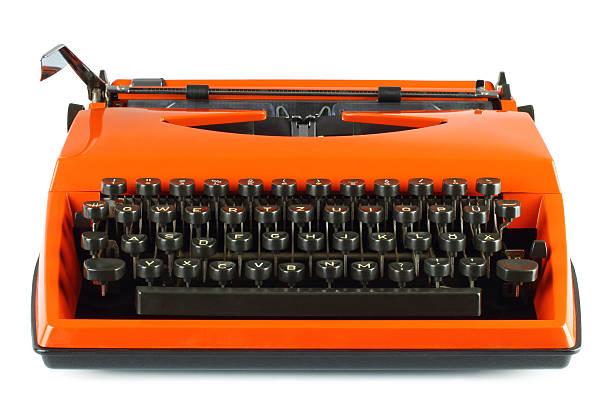 Vintage-Schreibmaschine – Foto