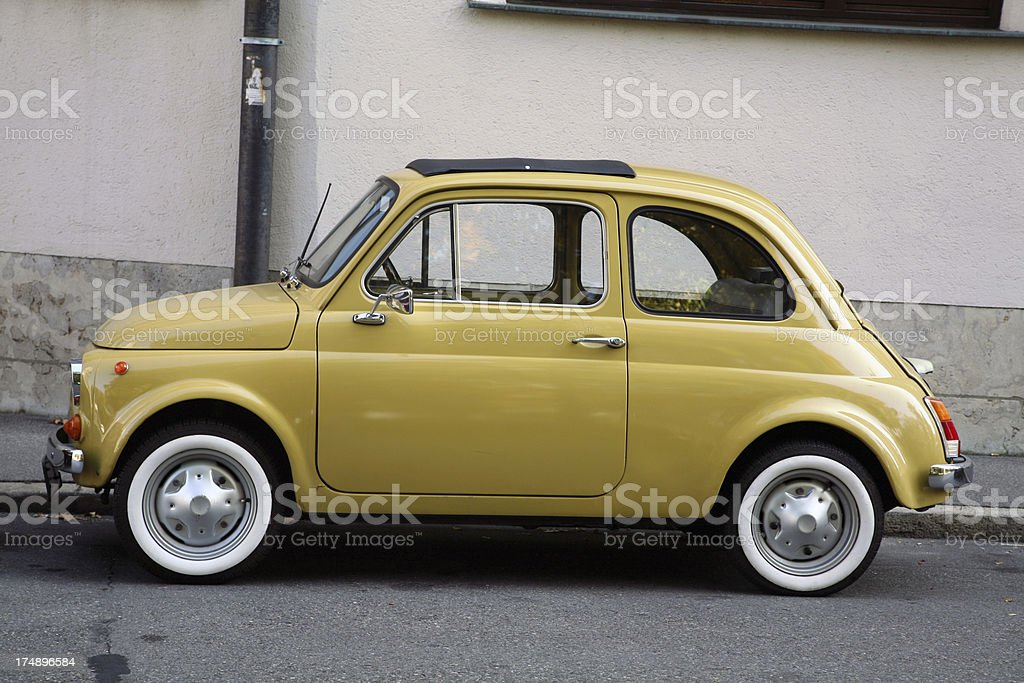 Vintage ultra-compact car royalty-free stock photo