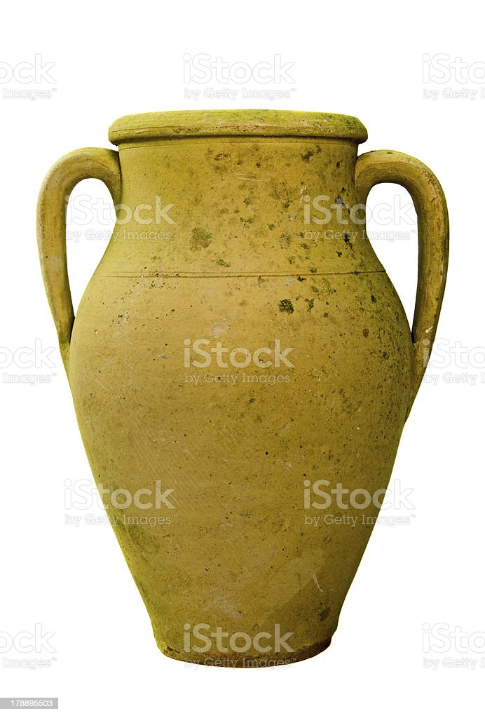 Vintage vase royalty-free stock photo