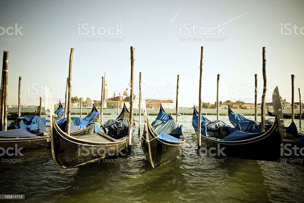 Vintage Venice royalty-free stock photo
