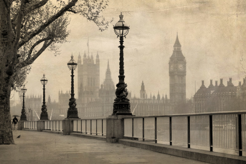 Vintage view of London