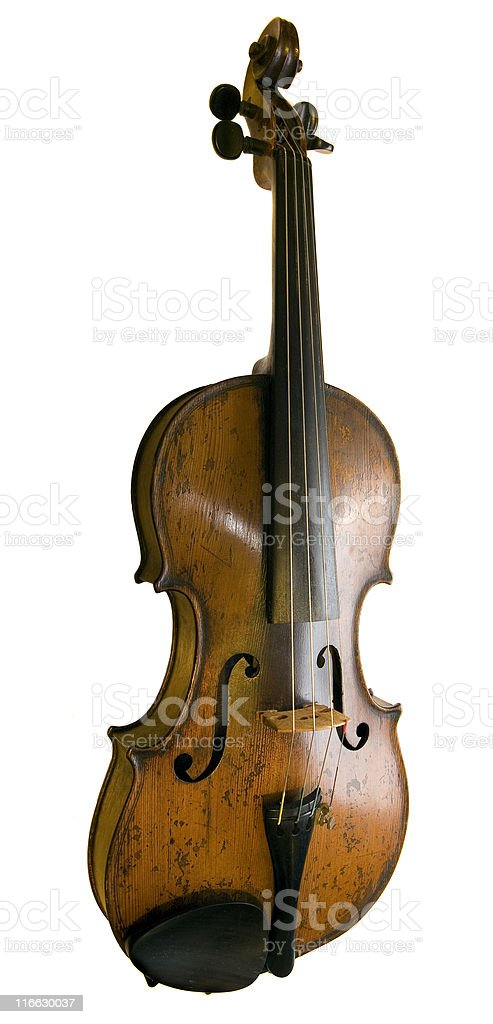 Vintage Violin - Royalty-free Color Image Stock Photo