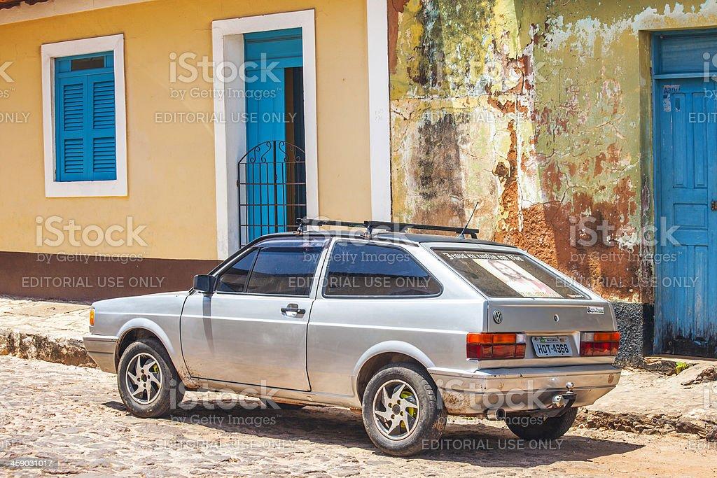 Vintage VW. stock photo