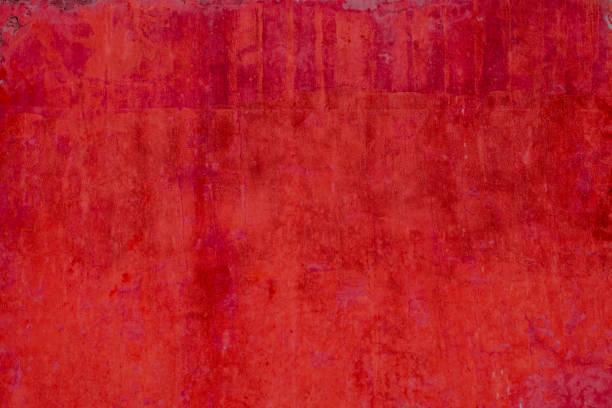 Vintage Wand - rote alte Mauer Putz Hintergrundtextur – Foto
