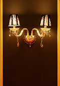 Wall light. Vintage wall lamp