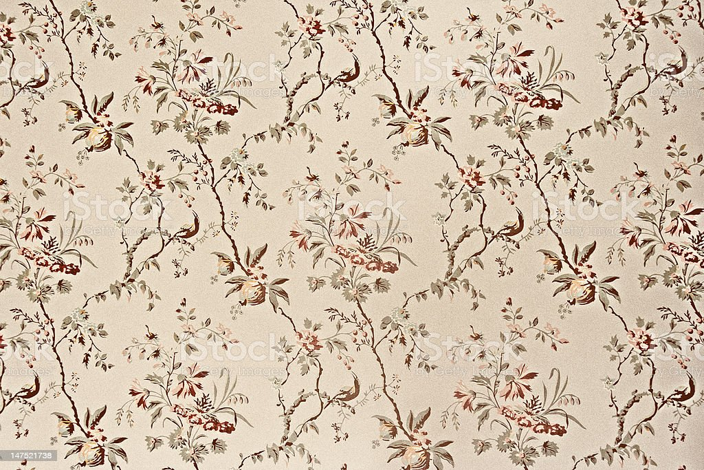 Vintage wallpaper stock photo