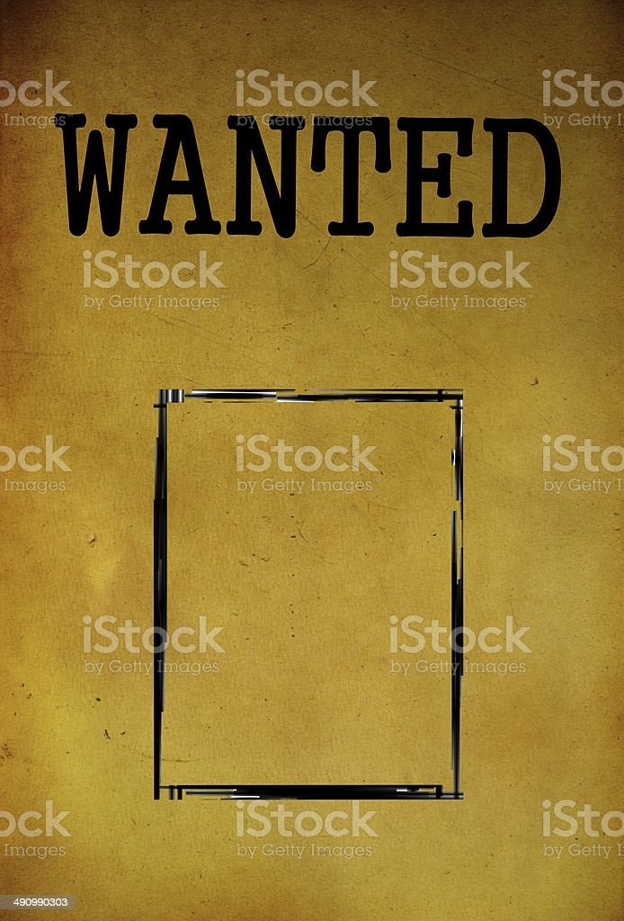 Royalty Free Background Of Wanted Signs Template Pictures Images
