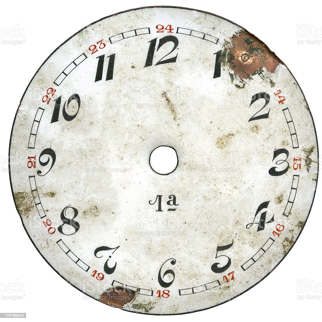 Vintage Watch Dial 1 royalty-free stock photo