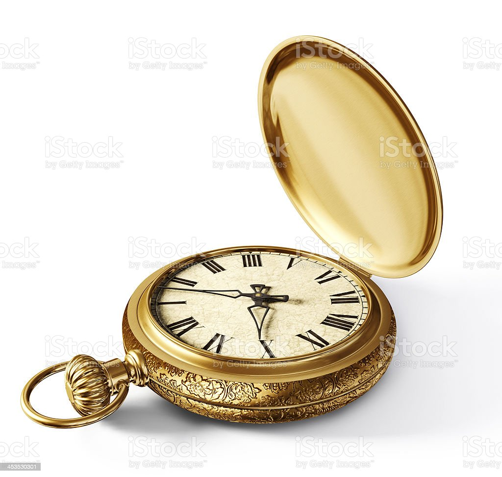 vintage watch stock photo