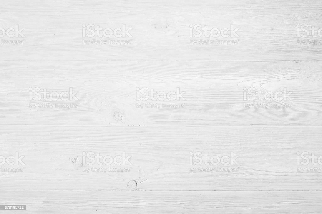Vintage weathered shabby white painted wood texture as background stock photo
