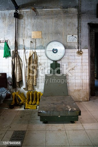 Turkey, Weighing, Libra, Old Fashioned, Scale, Butcher Shop, Old, Meat, Lamb - Meat, Hang Up
