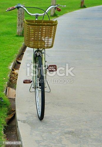 Bicycle, Formal Garden, Lawn, Ornamental Garden, Berlin