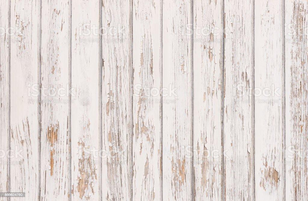 Vintage White Wood Texture Royalty Free Stock Photo