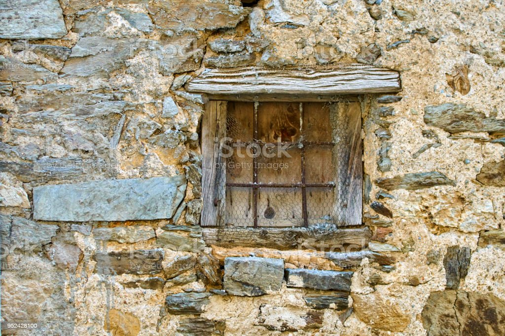 Rock House Window