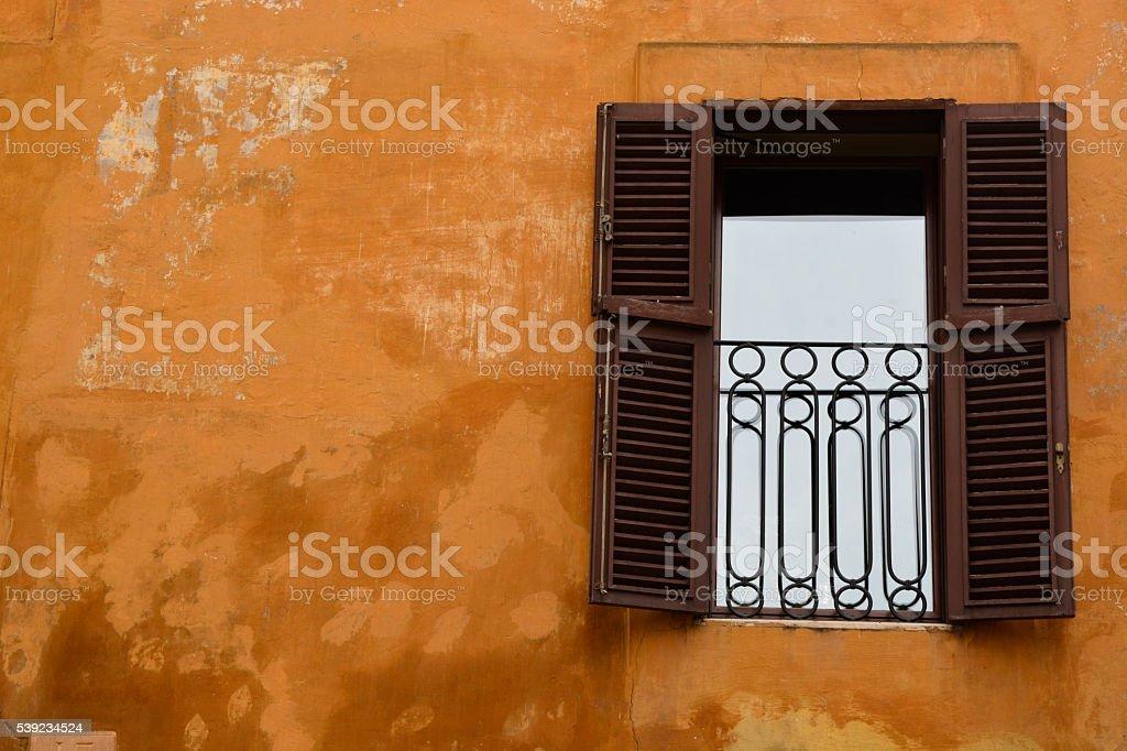 Vintage Window royalty-free stock photo