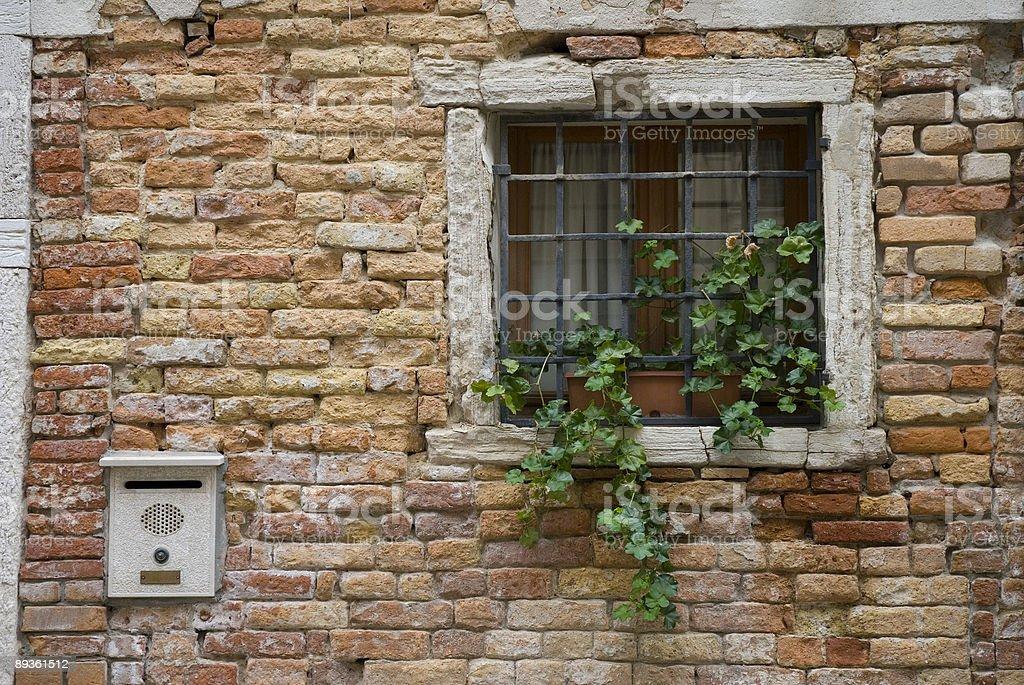 Vintage Window royalty free stockfoto