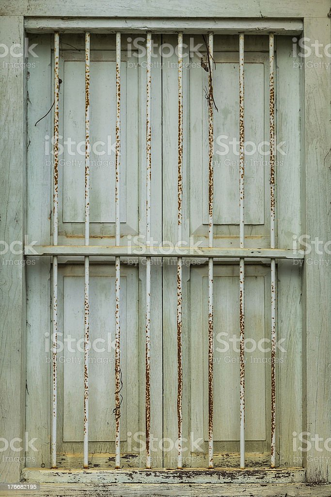 Vintage windows royalty-free stock photo
