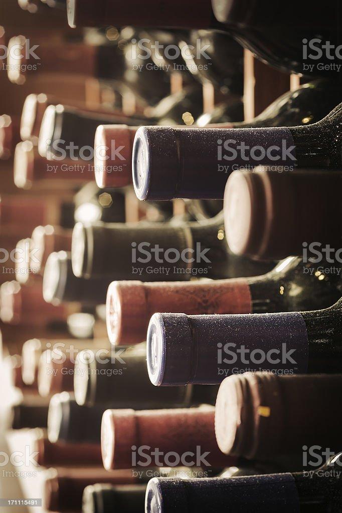 Vintage Wine Cellar royalty-free stock photo