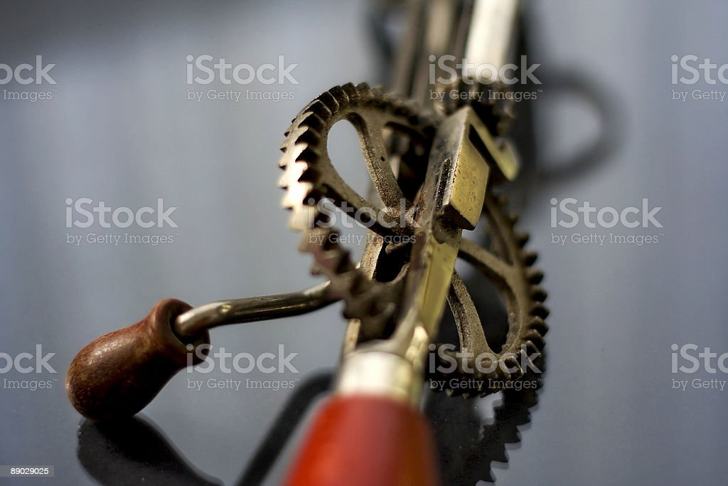 Vintage Wire Whisk stock photo
