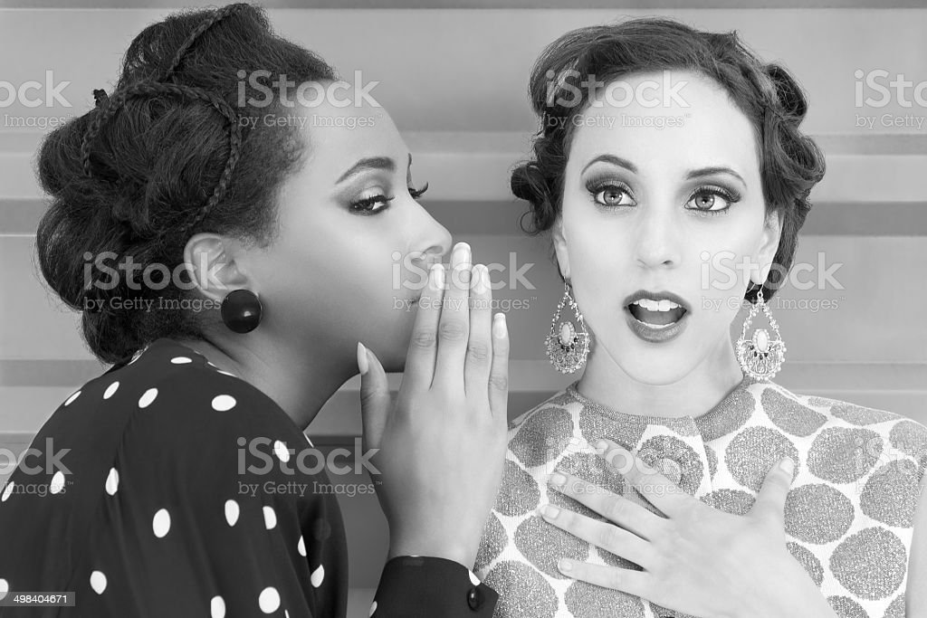 Vintage Women Secrets stock photo