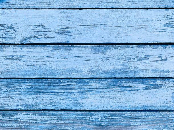 Vintage-Holz-Hintergrund mit Schälfarbe – Foto