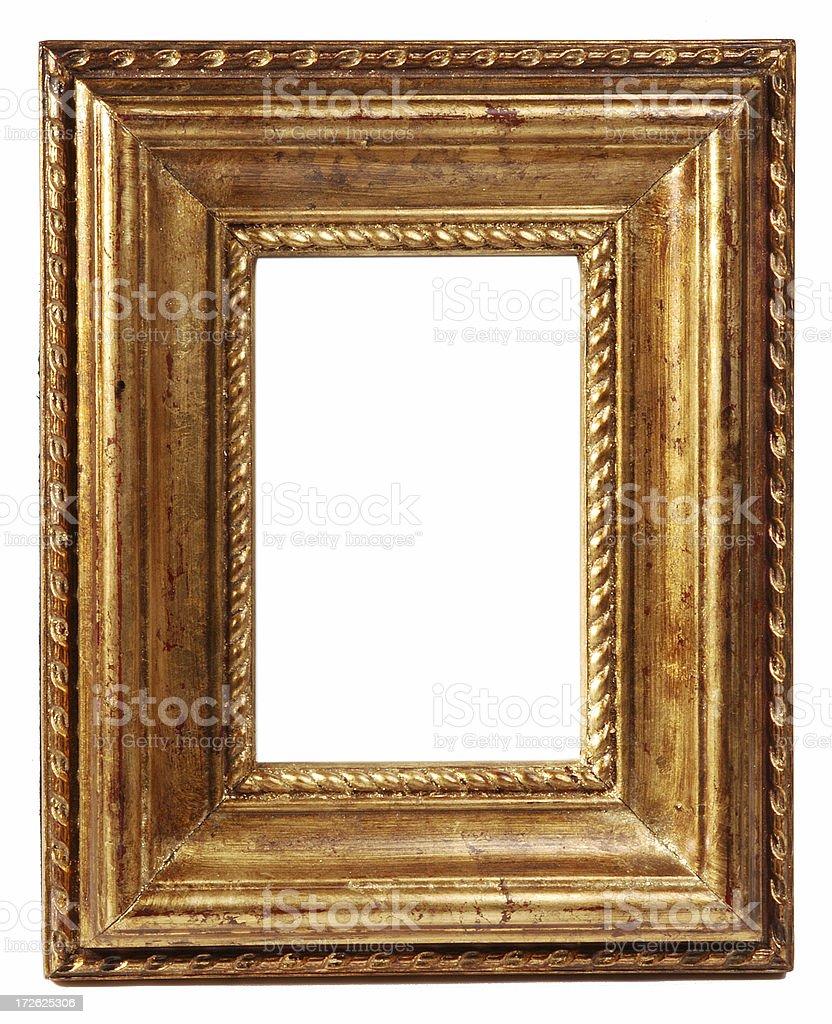Vintage wood frame royalty-free stock photo