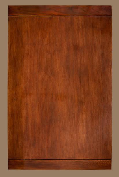 Vintage Holz Tisch Overhead – Foto