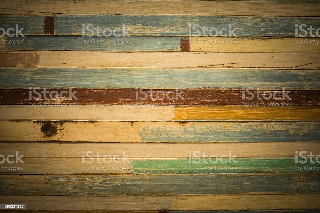 Vintage wood wall royalty-free stock photo