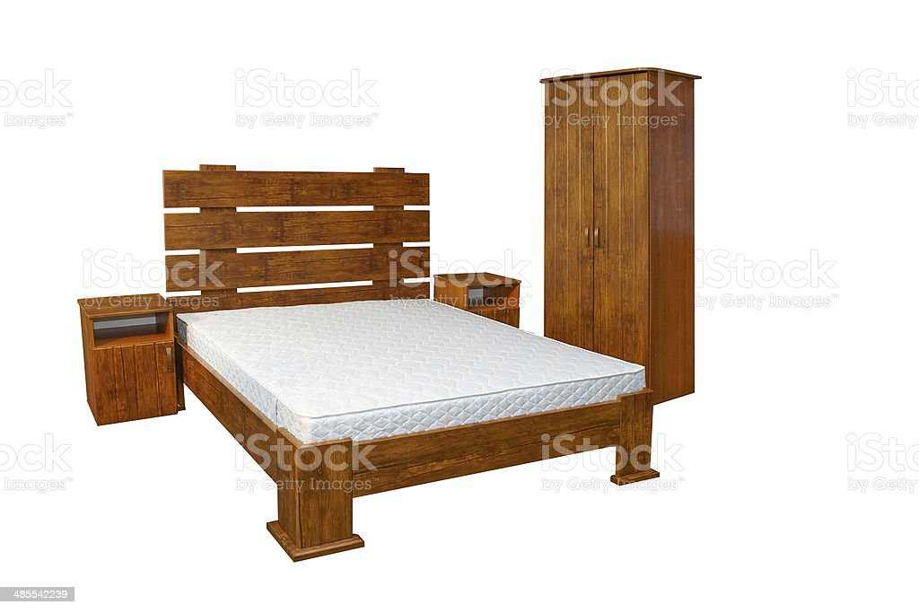 Vintage Wooden Bed Stock Photo Download Image Now Istock