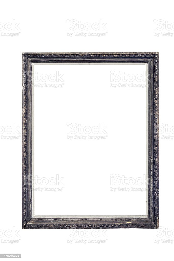 Vintage wooden frame royalty-free stock photo