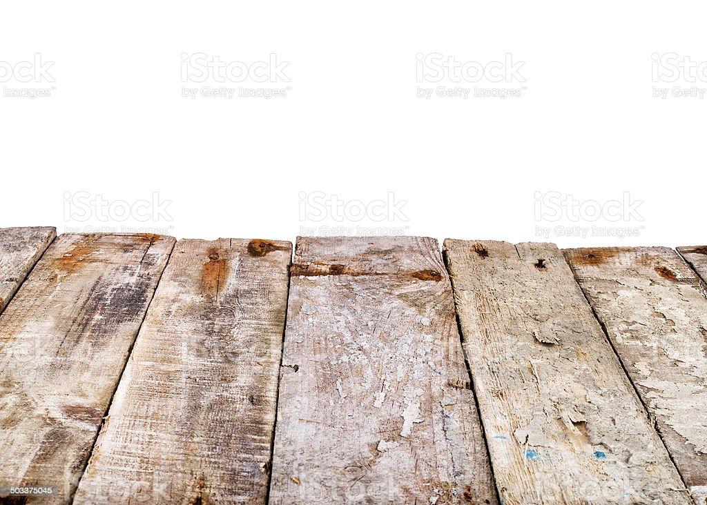 Legno Bianco Vintage : Vintage in legno le indicazioni sulla corda su un isolato
