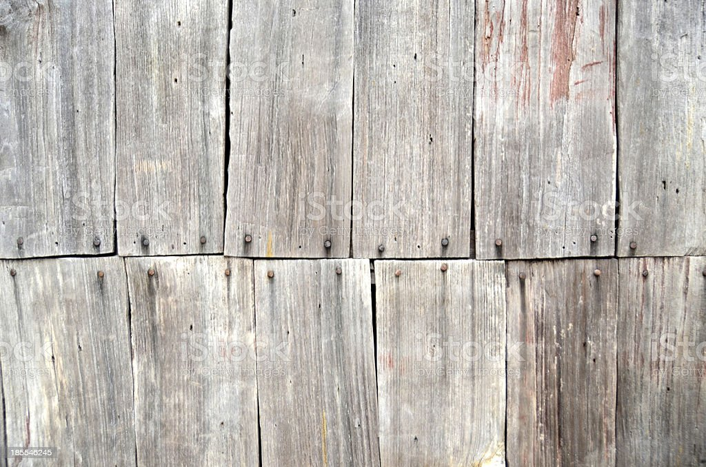 Vintage Wooden Wall Panels stock photo