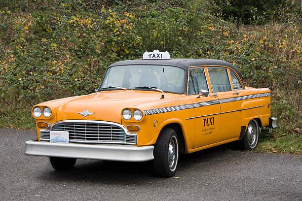Retro Yellow Taxi – Foto