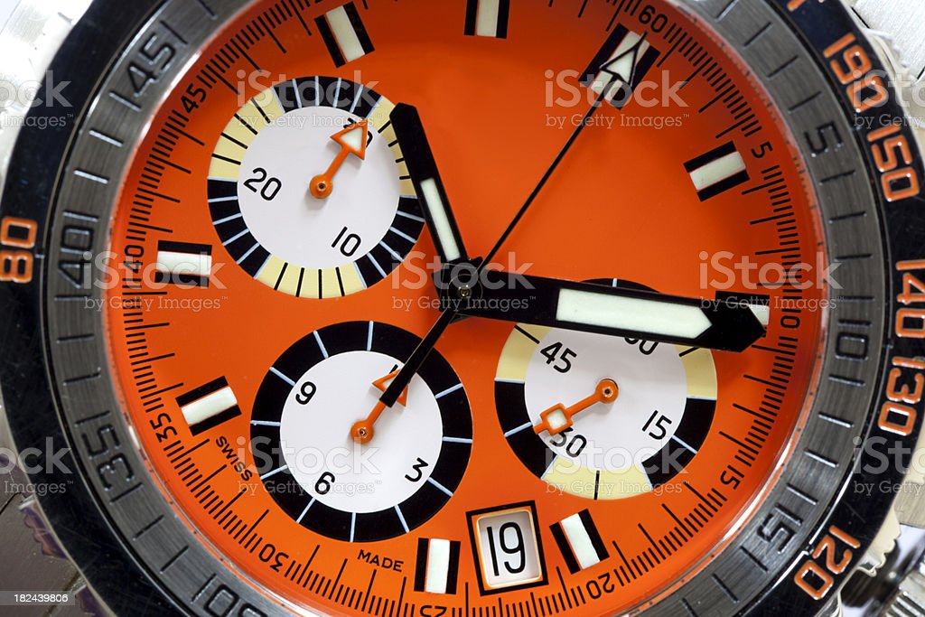 Vintage-Style Dive Watch royalty-free stock photo