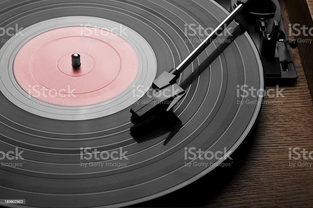Vinyl royalty-free stock photo