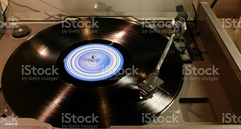LP Vinyl Player (3) royalty-free stock photo