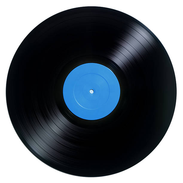 Vinyl record album stock photo