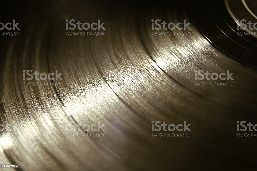 Vinyl Record Detail royalty-free stock photo