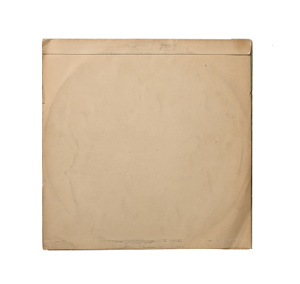 Vinyl Record In Blank Cover