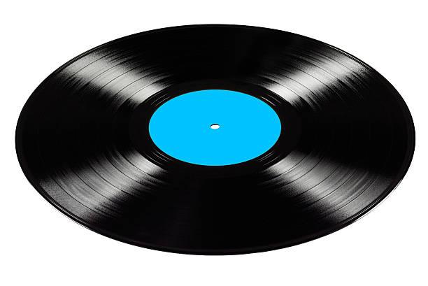 Vinyl record isolated. stock photo