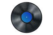 istock Vinyl record on white background, isolated 1227012543