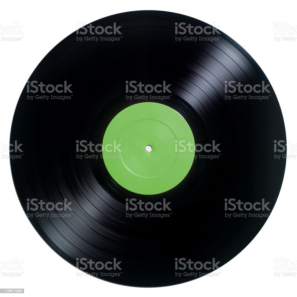 Vinyl record (photograph) stock photo